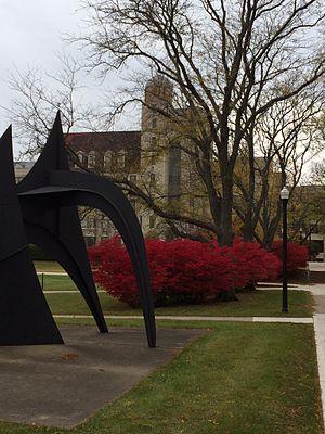 Northern Illinois University - Davis Hall - the old science building - at NIU