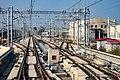 Daxing Airport Express train storage yard north of PKX (20190926151238).jpg