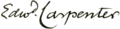 Day, Fred Holland (1864–1933) - Edward Carpenter - signature.png
