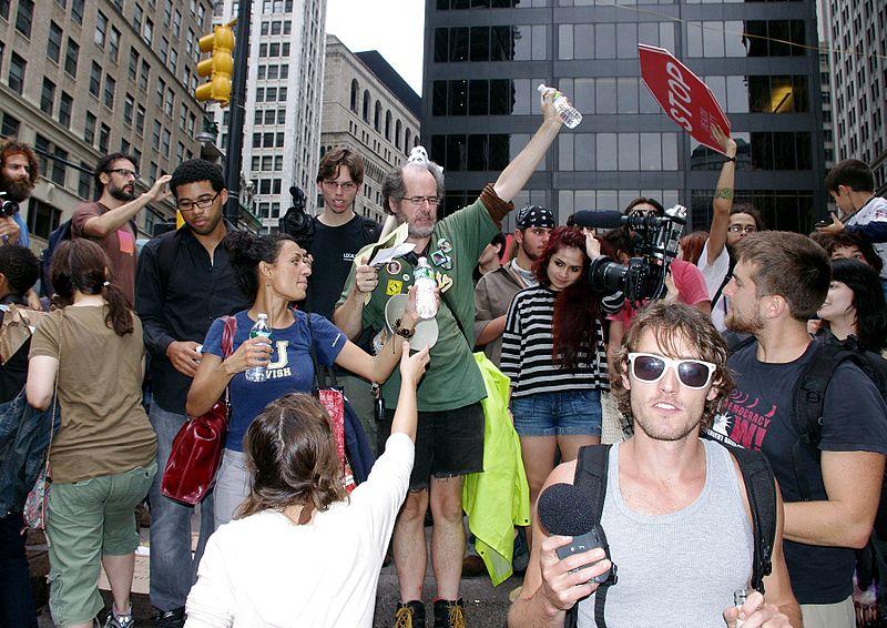 File:Day 8 Occupy Wall Street September 24 2011 Shankbone 20.JPG