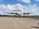De Havilland Canada Dash 7 at Malindi Airport (25535129617).jpg