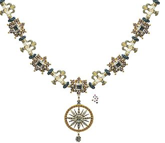 Order of Jehova - The collar of the Order of Jehova.