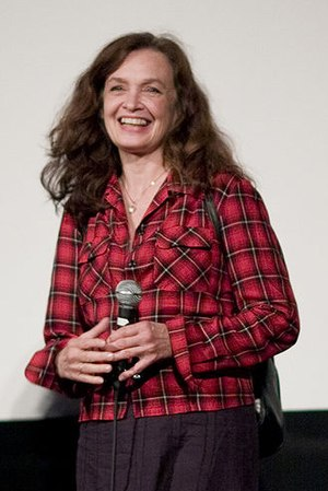 Deborah Van Valkenburgh - Van Valkenburgh at the Alamo Drafthouse screening of Streets of Fire
