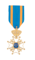 Decoration Order of the Netherlands Lion Male Knight.png