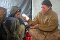 Defense.gov News Photo 110104-M-5112P-136 - U.S. Navy Petty Officer 3rd Class Heidi A. Dean right with the female engagement team attached to 3rd Battalion 5th Marine Regiment Regimental.jpg