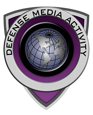 Organizational structure of the United States Department of Defense - Image: Defense Media Activity logo