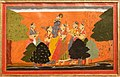 Delhi-National Museum-Krishna dallying with cowherd maidens-20131006.jpg