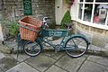 Delivery Bicycle at Tisanes Tea Room in Broadway Worcestershire - Flickr - mick - Lumix.jpg