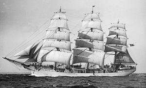 Danmark (ship) - the frigate Danmark