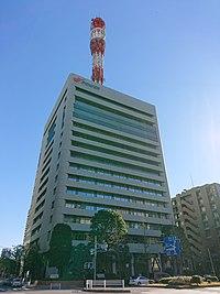 Denpatsu Building, at Ginza, Chuo, Tokyo (2019-01-02) 01.jpg
