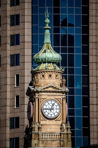 Department of Lands building - Image: Department of Lands Building Clock Tower