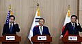 Deputy Secretary Blinken, South Korean Vice Foreign Minister Lim, and Japanese Vice Foreign Minister Saiki Address Reporters Following the Third Round of Deputy-Level Trilateral Consultations in Seoul (26432015592).jpg
