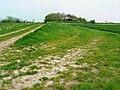 Derelict barn, east of Compton Bassett - geograph.org.uk - 414862.jpg