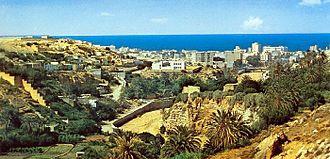 Derna, Libya - Image: Derna Valley