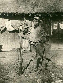 Дерсу Узала на фотографии В.К.Арсеньева