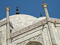 Detail of Taj Mahal - Agra - Uttar Pradesh - India - 08 (12650702474).jpg