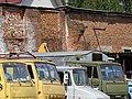 Detail of Trucks in Factory Courtyard - Vitebsk - Belarus (27632158826).jpg