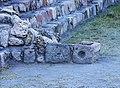 Detalle de la Escalinata de la Pirámide del Complejo A, Cañada de la Virgen, Guanajuato, México.jpg