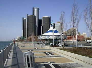 Rivard Place part of Detroit International Riverfront