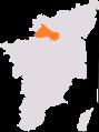 Dharmapuri lok sabha constituency.png