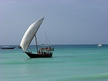 Comoros-Precolonial peoples-Dhow