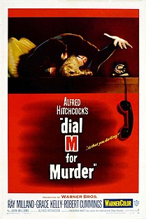 <i>Dial M for Murder</i> 1954 film by Alfred Hitchcock