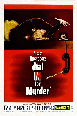 Dial M for Murder - Theatrical release poster by Bill Gold