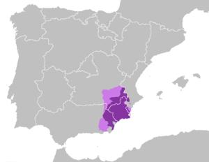 Murcian Spanish - Image: Dialecto murciano