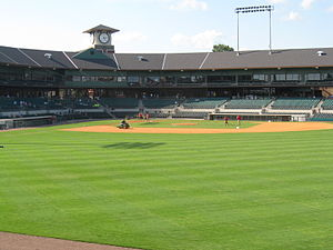 Dickey-Stephens Park - Image: Dickey stephens field and grandstand