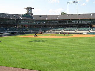 Dickey–Stephens Park - Image: Dickey stephens field and grandstand