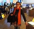 Die Kinderbuchautorin Margit Auer auf der Frankfurter Buchmesse 2015 (cropped).jpg