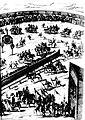 Diederich Graminaeus (1550-1610). Beschreibung derer Fürstlicher Güligscher ec. Hochzeit (Johann Wilhelm von Jülich-Kleve-Berg ∞ Jakobe von Baden-Baden, Hochzeit in Düsseldorf im Jahre 1585), Köln 1587 Nr. 32, Ausschnitt (Hälfte, rechts).JPG