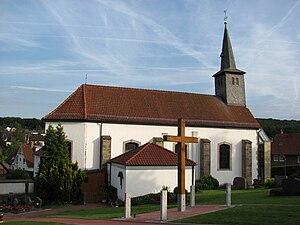 Diekholzen - Saint Jakobus Church (1656), Diekholzen.