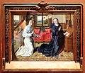 Dierick bouts (cerchia), annunciazione, 1480-1490 ca. 01.jpg