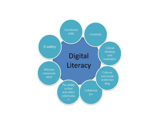 Digital literacy disciplines