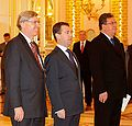 Dmitry Medvedev with Philip McDonagh.jpg