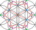 Dodecahedron in flower of life.png