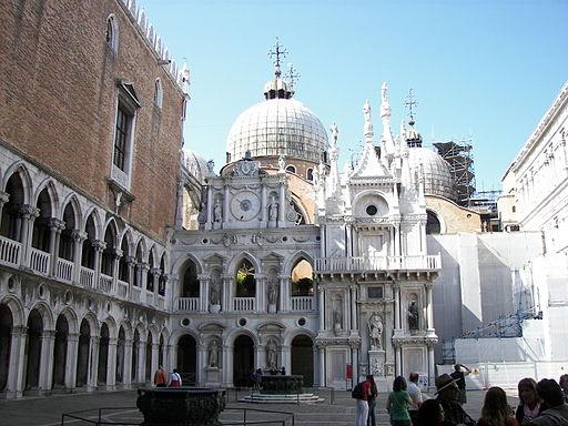 Doge's Palace courtyard 2 (Venice)