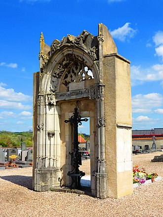 Dombasle-sur-Meurthe - Image: Dombasle ancienne eglise