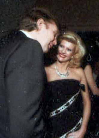 Ivana Trump - Ivana and Donald Trump, in November 1985