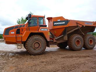 Doosan Group - Doosan truck AD 40