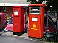 Dorchester, postboxes No. DT1 2000 and DT1 511, Bridport Road - geograph.org.uk - 1477289.jpg