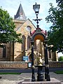 Dornoch, Cathedral and Fountain - geograph.org.uk - 486911.jpg