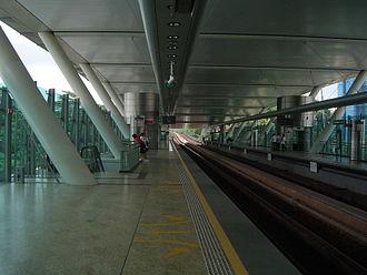 Dover, Singapore - Dover MRT Station