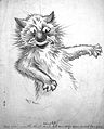 Drawing by Louis Wain Wellcome L0018572.jpg
