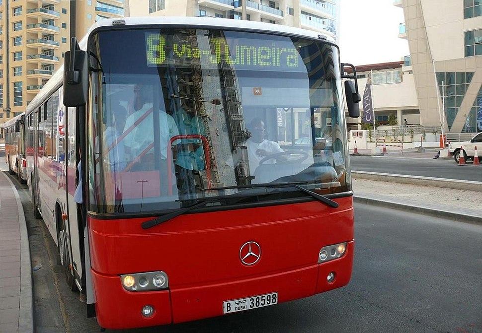 Dubai Bus on 26 December 2007 Pict 4