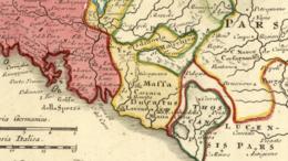 Duchy of Massa-Carrara and Marquisate of Fosdinovo, 1715 to 1730.png