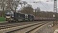 Duisburg Vossloh 2000BB STRABAG 9280 1272 407 en 406 met Eanos wagons (33455286366).jpg