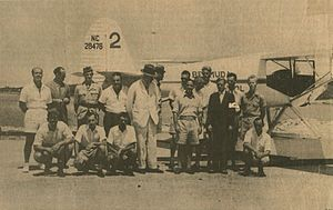 British Commonwealth Air Training Plan - The Duke of Windsor visits the Bermuda Flying School