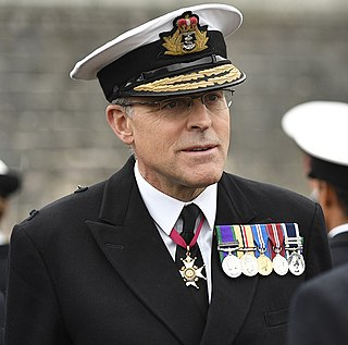 Duncan Potts former Royal Navy admiral